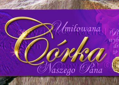 Treasured Daughter of the King Bookmark – Polish