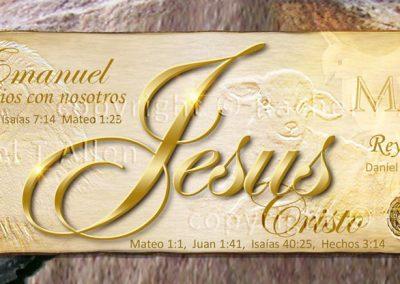Jesus – Name Above All Names Bookmark – Spanish