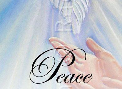Peace Bookmark – English