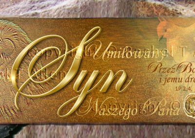 Treasured Son of the King Bookmark – Polish