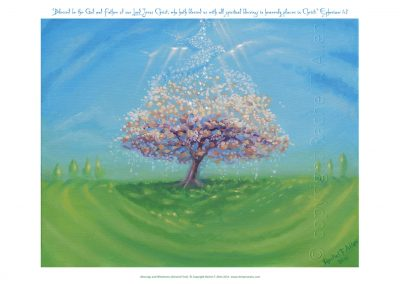 Blessings and wholeness (The Almond tree)
